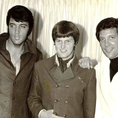Elvis, Chris Slade & Tom Jones!