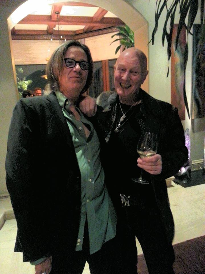 Chris Slade and John Cowsill