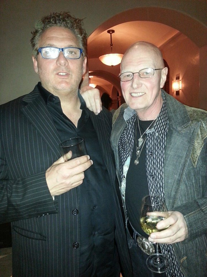 Chris Slade and Gary Wallis