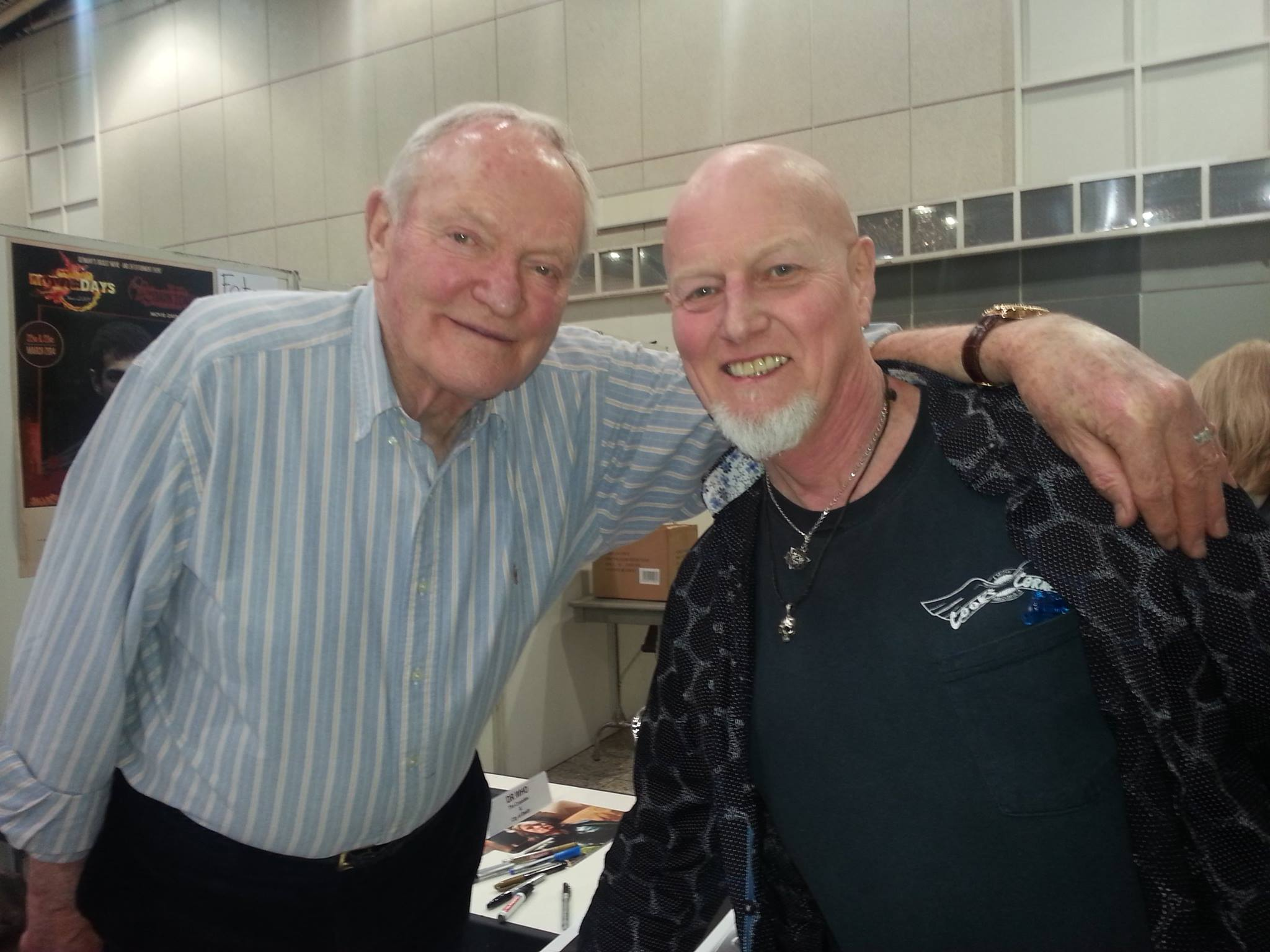 Chris Slade and Julian Glover