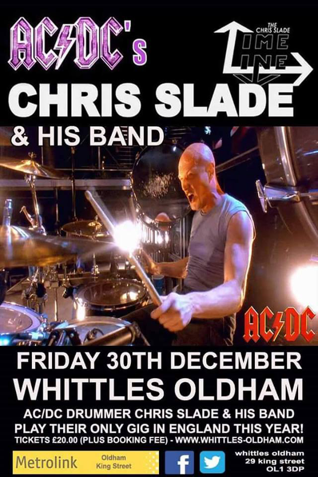 The Chris Slade Timeline at Whittles Oldham
