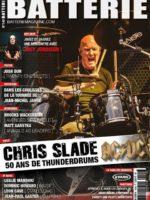 Chris Slade on Batterie French Magazine Cover